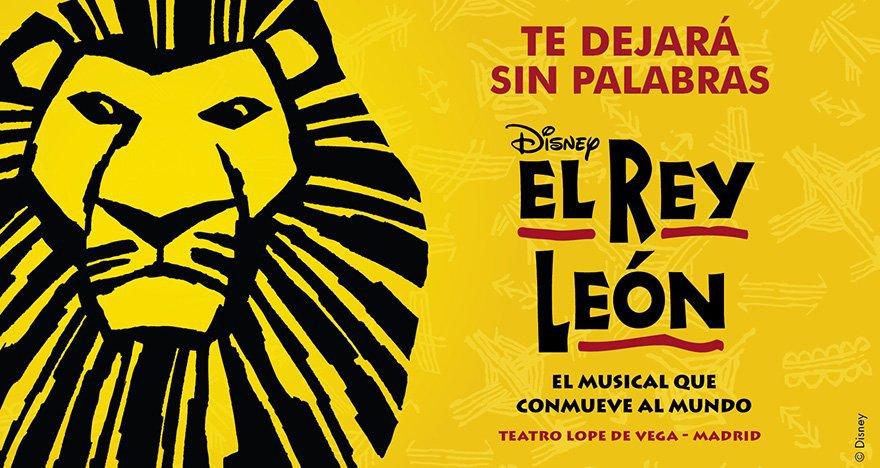 El musical El Rey León en Madrid | Septiembre