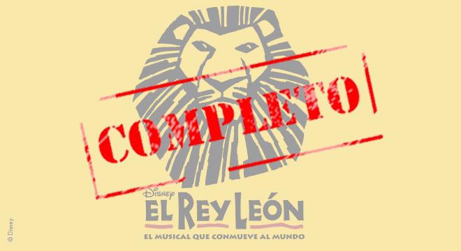 El musical para todos los públicos: El Rey León   Noviembre